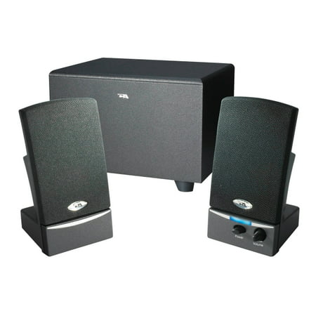 Cyber Acoustics 3-Piece Subwoofer & Satellite Speaker