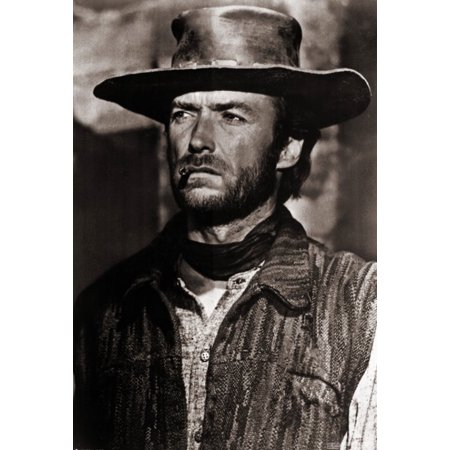 Clint Eastwood Movie Poster Print  27 X 40
