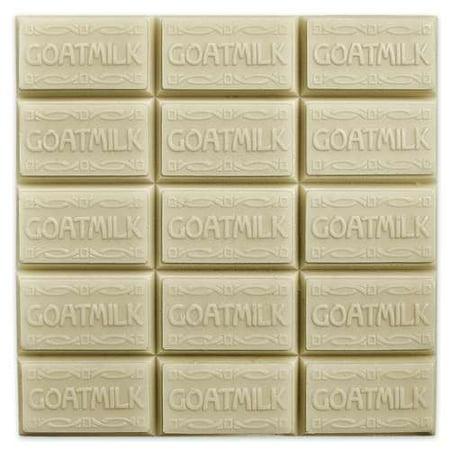 Milky Way Clear PVC Goat Milk Guest Tray Soap Mold - Melt & Pour, Cold Process