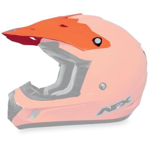 AFX FX-17Y Solid Youth MX Visor - 2012 Models Safety Orange