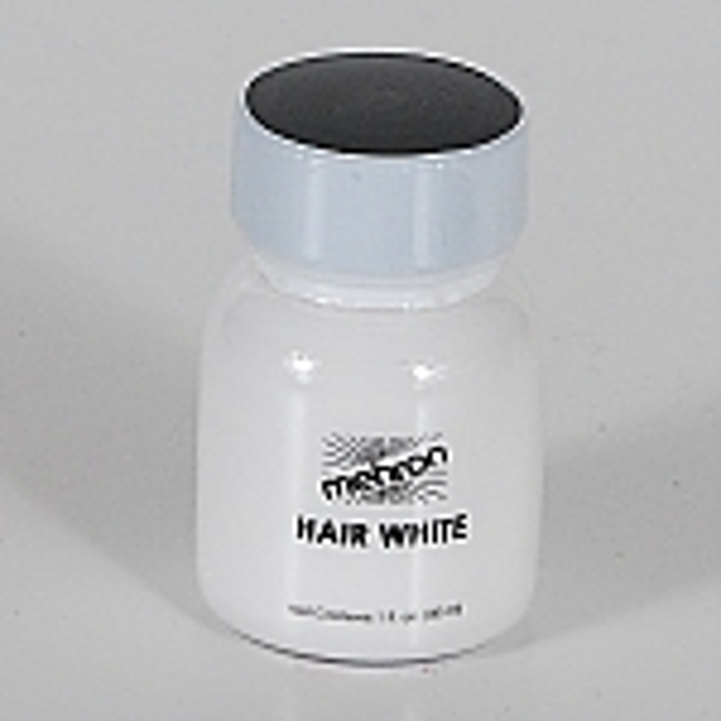 Hair White with Brush - 1oz