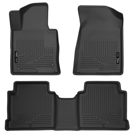 Husky Liners Front & 2nd Seat Floor Liners Fits 15-18 Sonata, 16-18 Optima