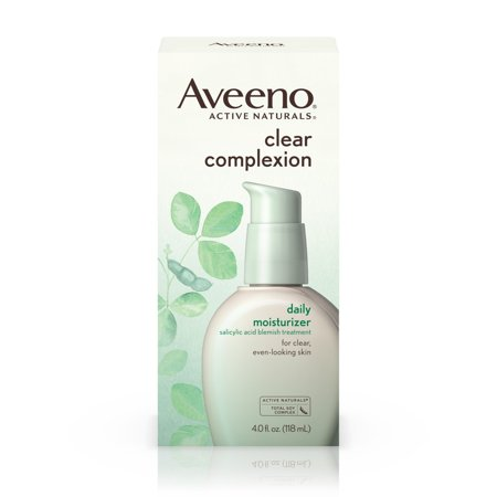 Aveeno Clear Complexion Blemish Treatment Daily Moisturizer  4 Oz