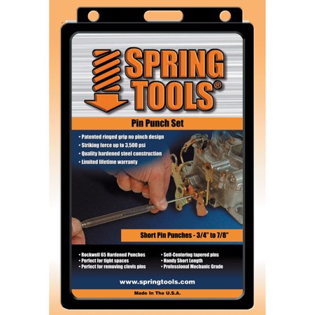 Spring Tools PPM503 4 Pc Spring Tools® Pin Punch - Tools Pin Punch