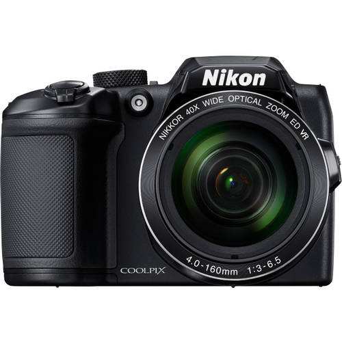 Nikon Black COOLPIX B500 Digital Camera with 16 Megapixels and 40x Optical Zoom by Nikon