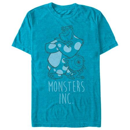 Monsters Inc Men's Best Friend Pose T-Shirt (Best Fiend Monsters Yugioh)