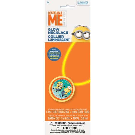 Despicable Me Minions Glow Necklace](Party City Minion Goggles)