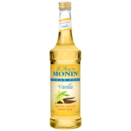 Monin - Sugar Free Vanilla Syrup, Great For Flavoring Coffee, Shakes, And Cocktails (1