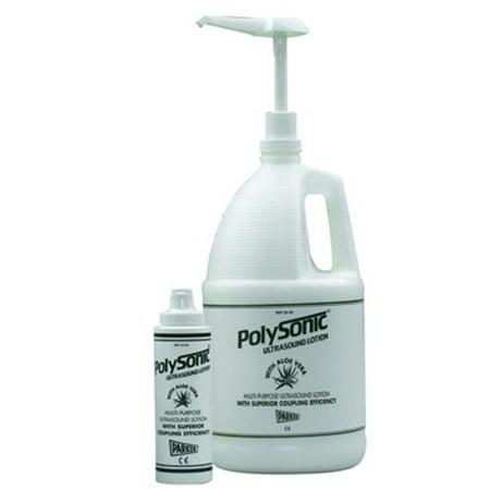 Fabrication Enterprises 50-6004-12 250 ml Polysonic Ultrasound Lotion with Aloe Vera - Pack of