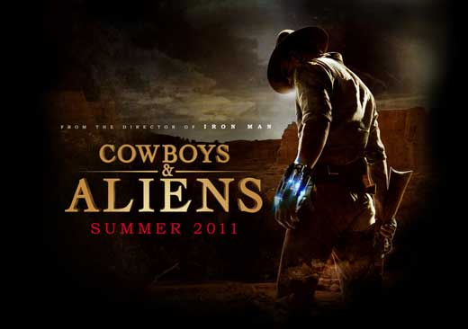 Cowboys & Aliens (2011) 11x17 Movie Poster by Pop Culture Graphics