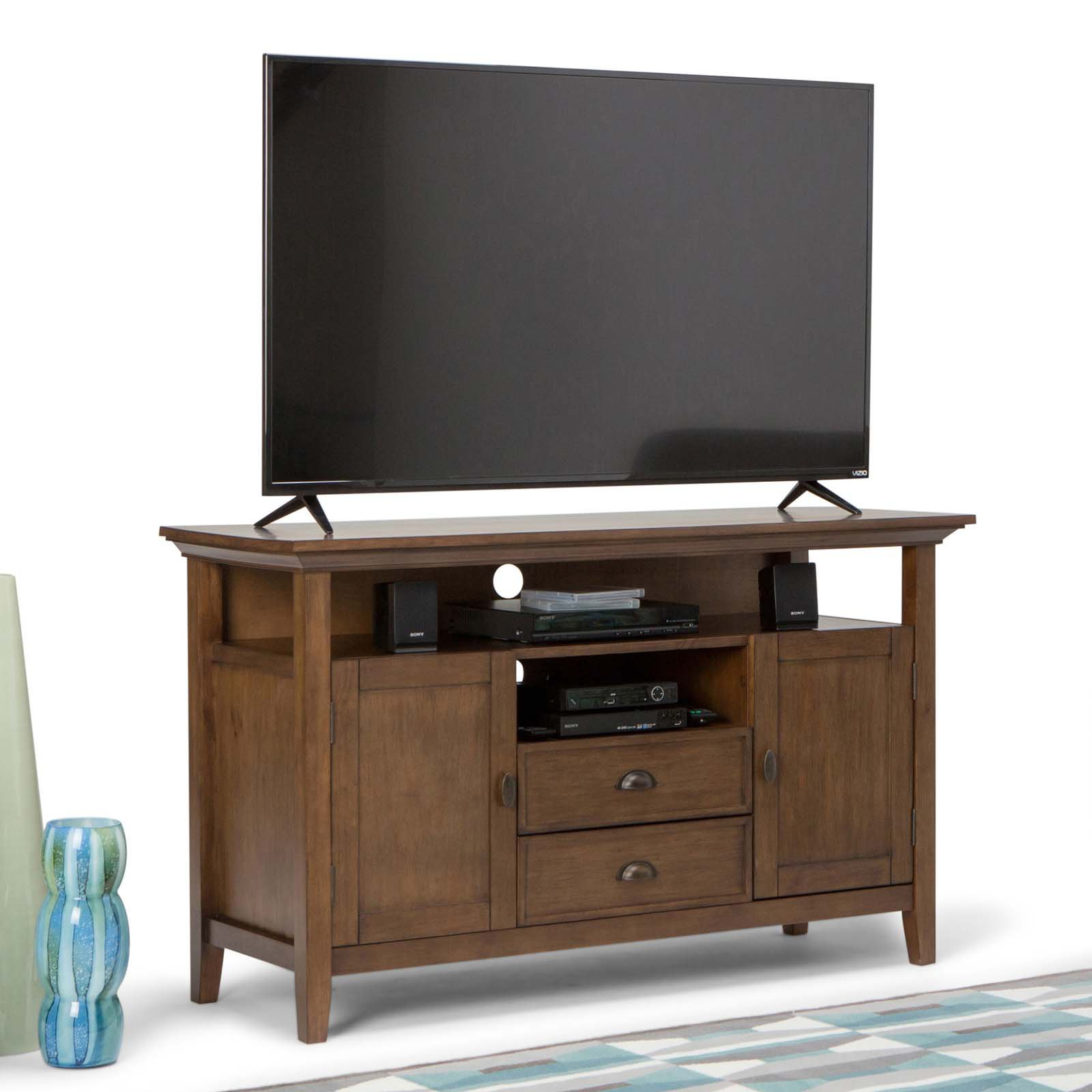 Simpli Home Redmond Tall TV Media Stand