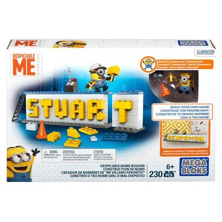 Mega Construx Despicable Me Minions Name Builder