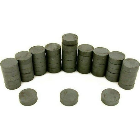 50 Round Full Disc Magnets Crafts Hobby Home Model Fridge Office Part 3/4