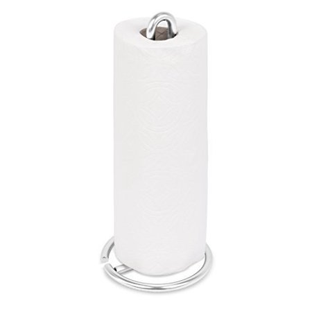 Internetâ S Best Stainless Steel Wire Paper Towel Holder Brushed