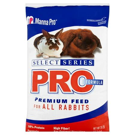 Manna Pro Feed For Rabbits, 25 lbs. (Rabbit Turkey)