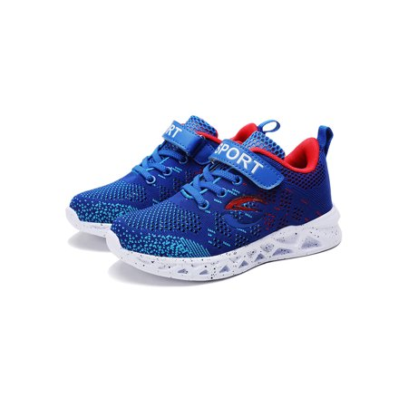 Girl's Boys Fashionable Running Shoes Kid Breathable Non-Slip Tennis Shoes Outdoor Sports Shoes Children's