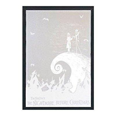 Tim Burton Nightmare Before Christmas Jack And Sally.Neca Nightmare Before Christmas Etched Jack Sally Inches