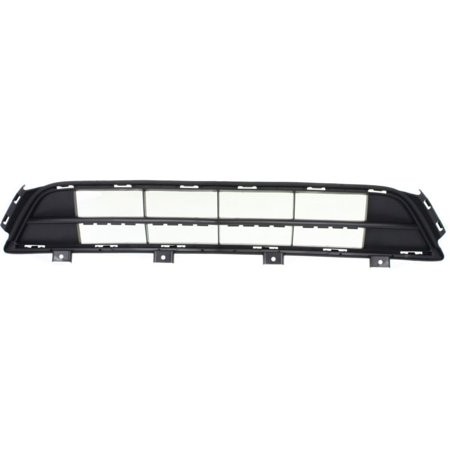 NEW FRONT BUMPER GRILLE TEXTURED FITS 2014-2016 ACURA MDX FWD -