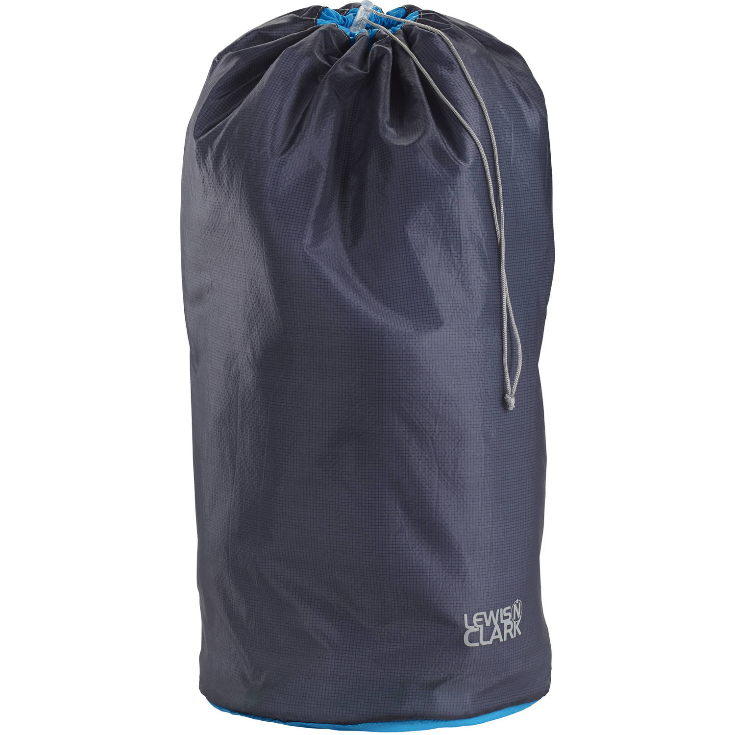 "ElectroLight Stuff Sack, 24"" x 11"", Charcoal/Bright Blue"