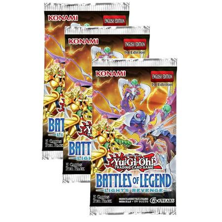Yu-Gi-Oh! Battle of Legend Light's Revenge 3 Pack