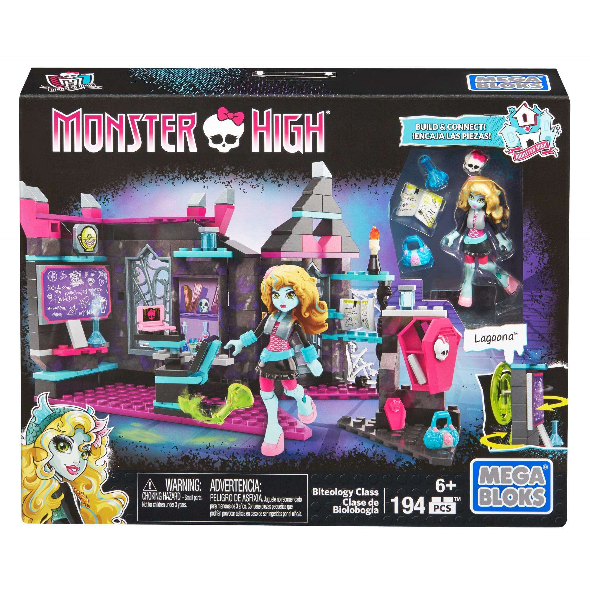 Mega Bloks Monster High Biteology Class by Mattel