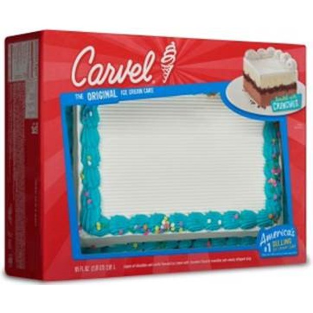 Fine Carvel Ice Cream Cake Chocolate And Vanilla Ice Cream Serves 24 Funny Birthday Cards Online Elaedamsfinfo