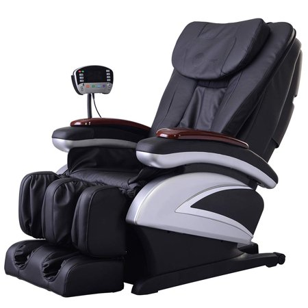 BestMassage Electric Full Body Shiatsu Massage Chair Recliner w/Heat Stretched Foot - Brookstone Massage Chair