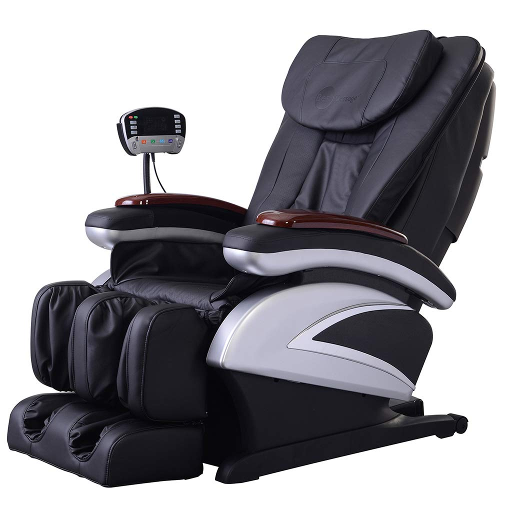 BestMassage Electric Full Body Shiatsu Massage Chair Recliner w/Heat Stretched Foot Rest