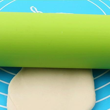 Kitchen Wooden Rolling Pin Fondant Cake Decoration Dough Roller Baking S - image 2 de 7