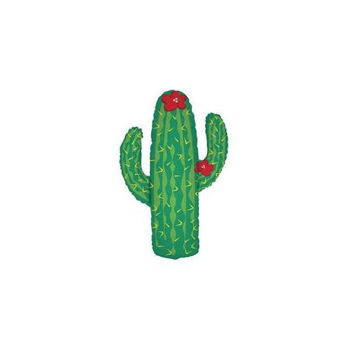 DDI 1334650 Cactus Shape Mylar Balloon Case Of 2