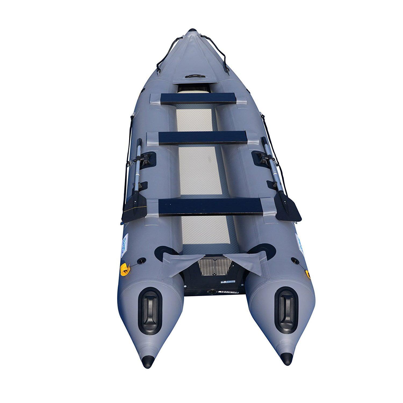 14.1Ft Inflatable boat Kayak Kaboat Canoe Tender Dinghy Boat