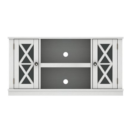 Stanton Home Furnishings - Stanton Ridge White TV Stand for TVs up to 55