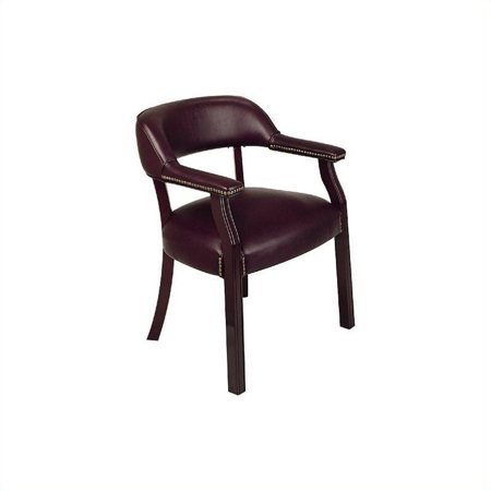 Scranton & Co Traditional Guest Chair in Oxblood - image 1 of 1