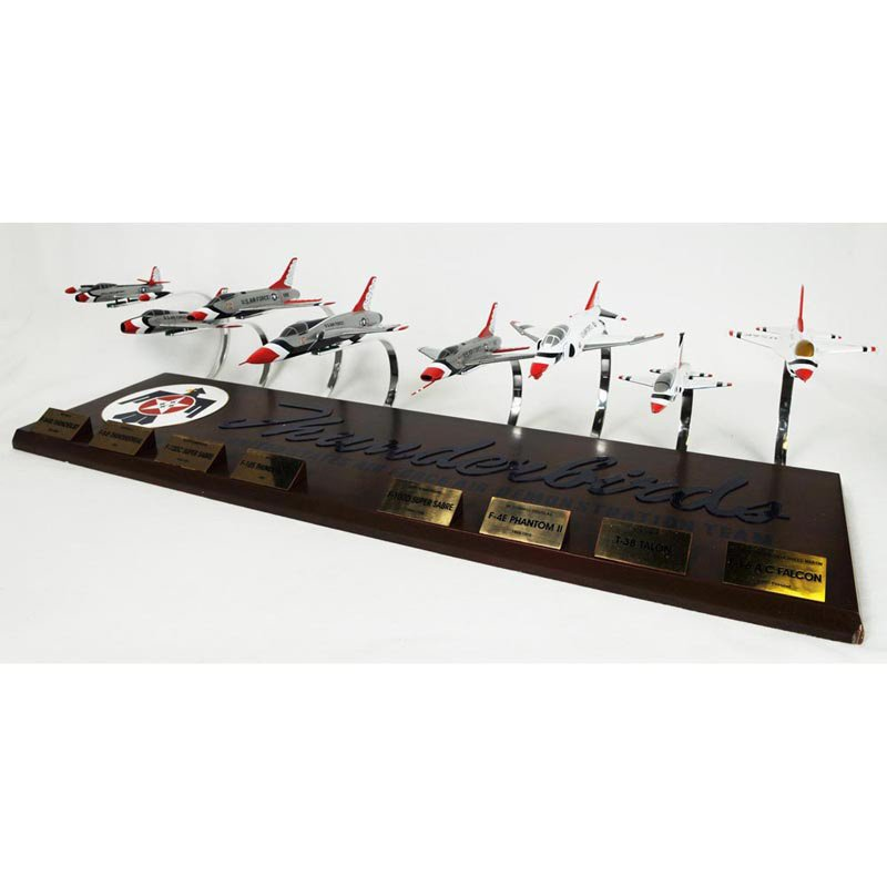 Daron Worldwide Thunderbirds Collection Model Airplane by Toys and Models Corporation