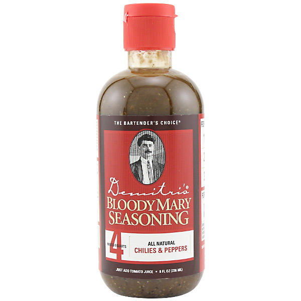 Demitri's Chilies & Peppers Bloody Mary Seasoning Mix - 8 oz