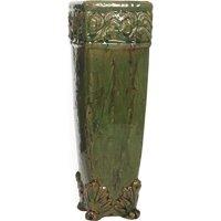 Elegant Expressions by Hosley Tall Ceramic Vase, Green