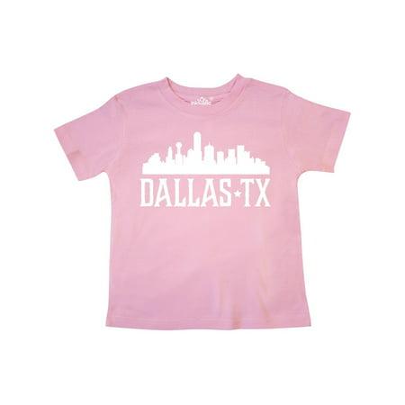 Dallas Texas Skyline TX Cities Toddler T-Shirt (Halloween City Dallas Tx)