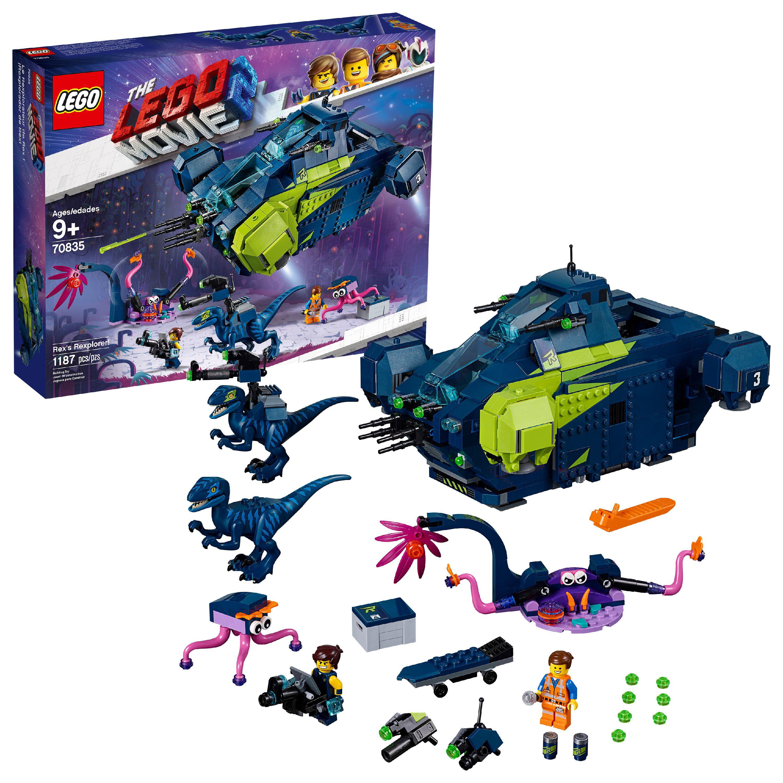 LEGO The LEGO Movie 2 Rex's Rexplorer! 70835