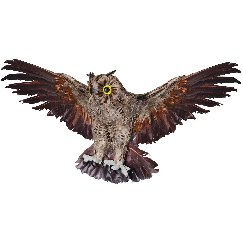 "19"" Brown Owl Halloween Decoration"