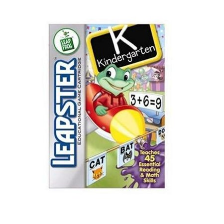 LeapFrog Leapster Educational Game: Kindergarten (Educational Halloween Games For Kindergarten)