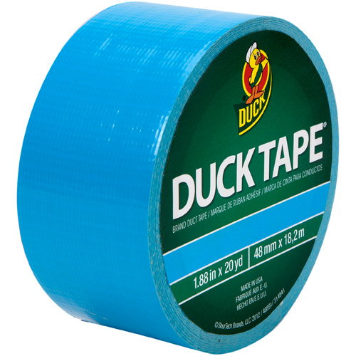 """Duck Brand Duct Tape, 1.88"""" x 20 yard, Electric Blue"""