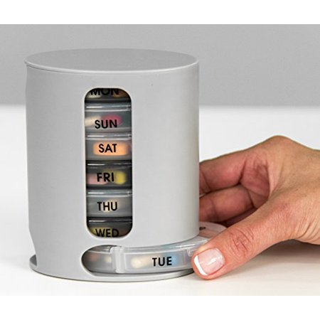 Pill Pro As Seen On Tv New Tower Pill Box Organizer With 7 Single Box