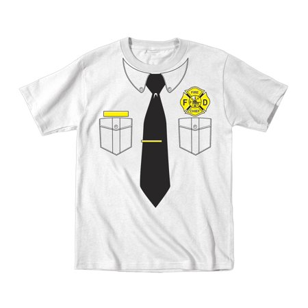 Fire Chief Funny Toddler Tshirt