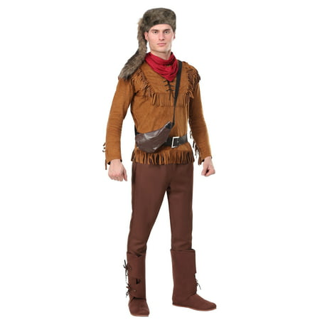 Men's Davy Crockett Costume - Davy Jones Costume