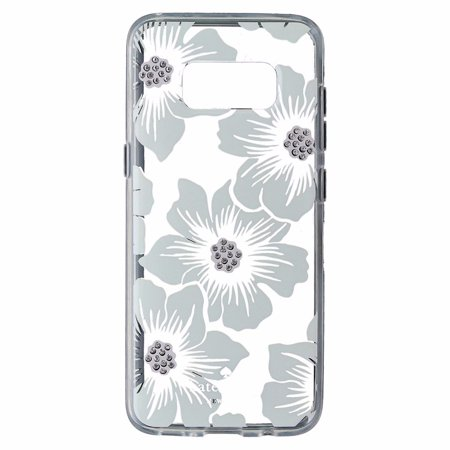 super popular 508e0 d80ce Kate Spade New York Hardshell Case Cover For Galaxy S8+ (S8 Plus) - Floral  Clear