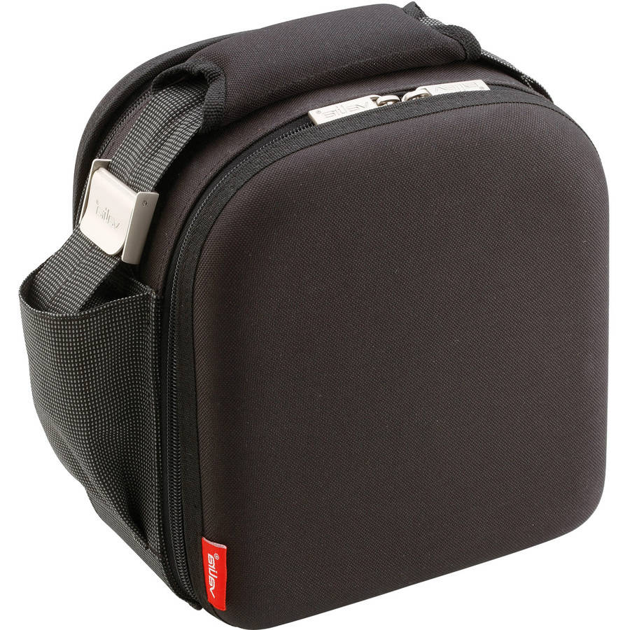 Nomad Lunch Box with .75L and .5L Containers, Satin Black