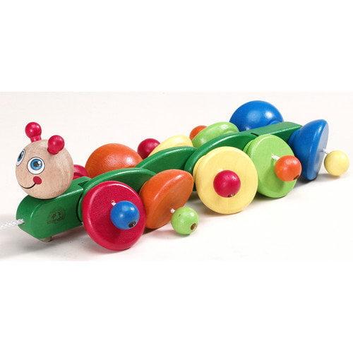 Wonderworld Sprinter Caterpillar Wooden Pull-Along Toy
