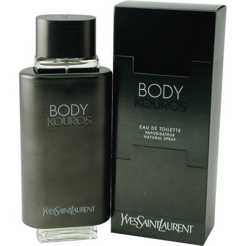 Body Kouros By Yves Saint Laurent 3.3 / 3.4 EDT Spray For Men