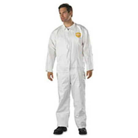 Dup NG120SXL ProShield NexGen Coveralls - HD Polyethylene, White, XL