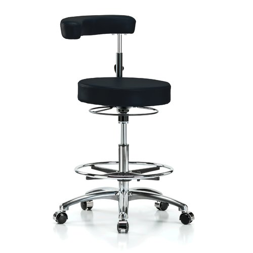 Perch Chairs & Stools Height Adjustable Dental Stool with...